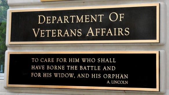 VA plaque
