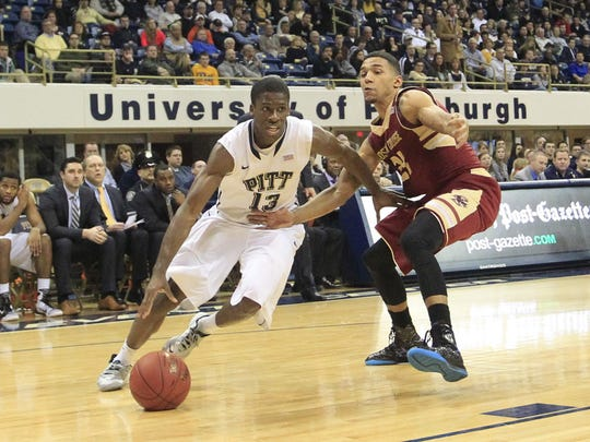 Josh Newkirk spent his first two college seasons in Pitt.