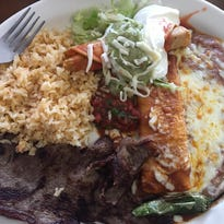 Searching for the best enchilada at El Zacatecano