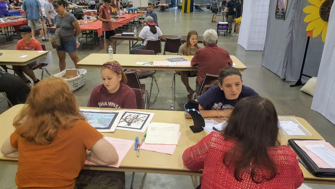At this year's Shawnee County Fair, there will be closed judging, no public displays, and when youths and volunteers are at the fair they will have to social distance from others and wear face coverings.