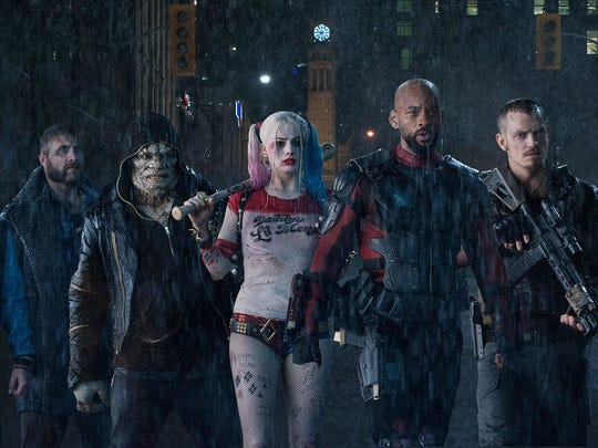 "The ""Suicide Squad"" caps the summer superhero movie season in August."