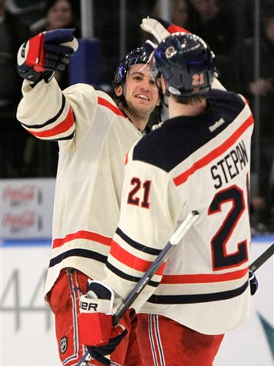 Michael Del Zotto, Derek Stepan