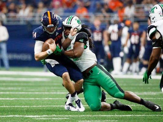 NCAA Football: Marshall at Texas-San Antonio