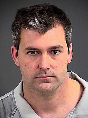 Michael Thomas Slager, in a photo provided by the Charleston County Sheriff's Office, faces sentencing in connection with the fatal shooting of unarmed black motorist Walter Scott in April, 2015.
