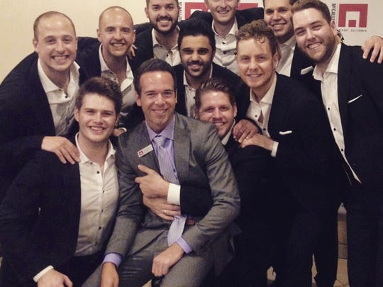 Chad Hilligus recently reunited with The Ten Tenors