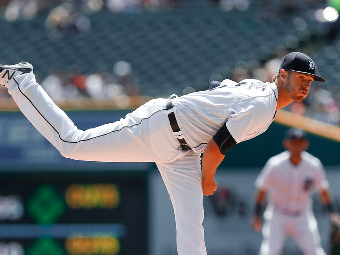 Detroit Tigers pitcher Shane Greene