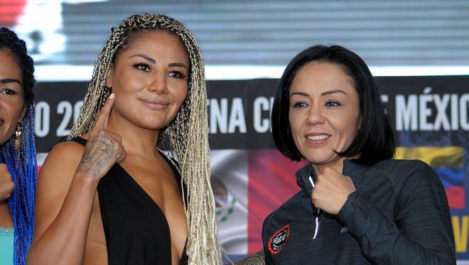 Mariana Juárez y Jackie Nava protagonizarán combate en octubre.