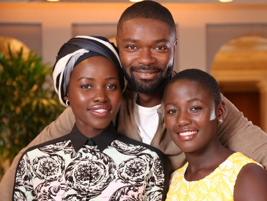 'Queen of Katwe' stars Lupita Nyong'o (from left),