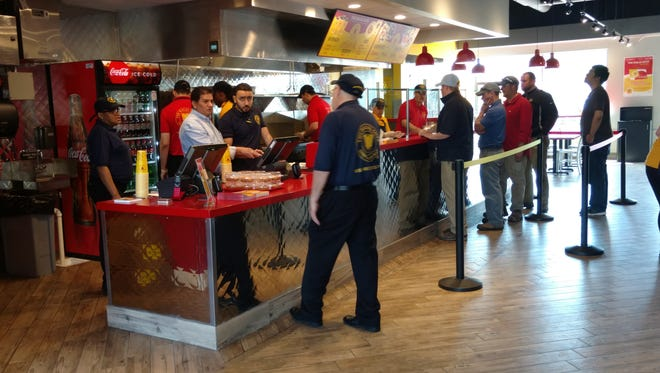 The newest Halal Guys restaurant in Union will employ roughly 30 people.