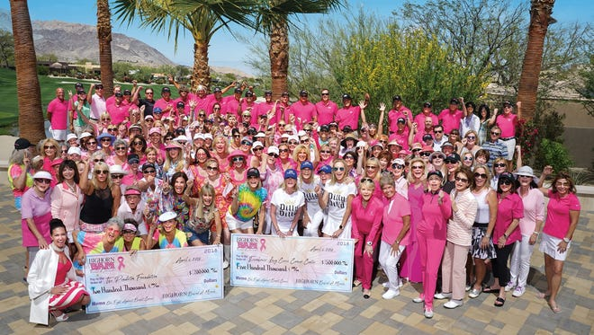 BIGHORN BAM Supporters, The Pendleton Foundation and esteemed Eisenhower Doctors show their support for local cancer patients.
