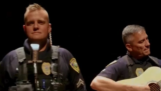 """Great Falls Police Department covered Maroon 5's """"Girls Like You,"""" for the #lipsyncchallenge."""