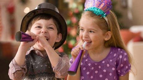Check out the kids and families New Year's Eve celebrations we found.