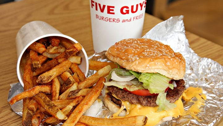 N. Asheville Five Guys Burgers and Fries opens Monday