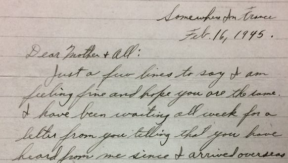 Wayne Clark wrote this letter about six weeks before