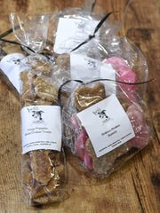 Bags of trainer treats (left) and everyday treats in
