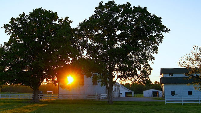 """Bryan Stuart's """"Sunset at Harlinsdale"""" took first place in a previous My Historic Franklin photo contest."""