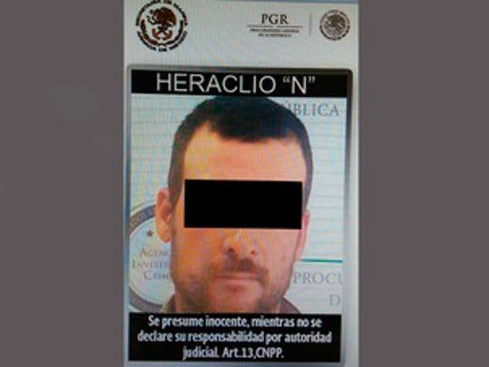 Heraclio Osorio-Arellanes era buscado por las autoridades.
