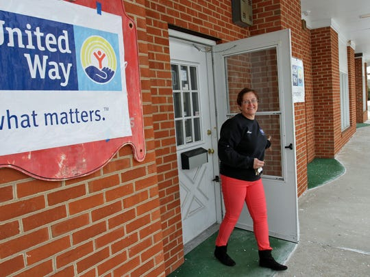 Bonnie Duncan, CEO of the United Way of Hunterdon County is happy with the new digs. This building will be their new Community Volunteer Center in Flemington. Duncan hopes to have the vacant building renovated and up and running by spring or early summer.