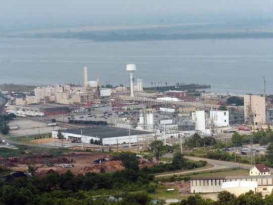The Chemours Co.'s former Edge Moor titanium dioxide manufacturing facility is a target for the Port of Wilmington for future expansion on the Delaware River north of Wilmington.