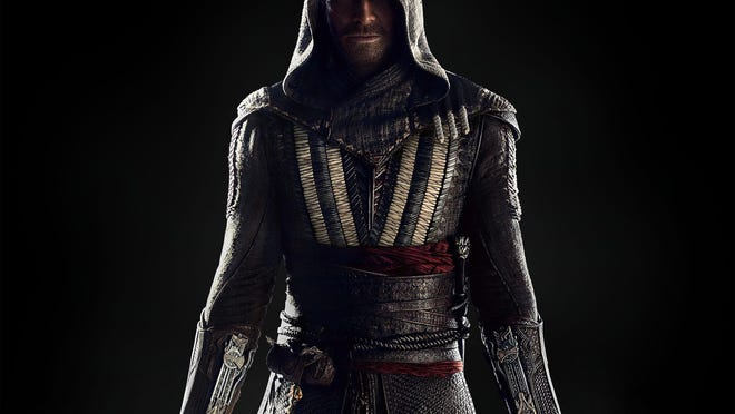 """Michael Fassbender in """"Assassin's Creed."""""""