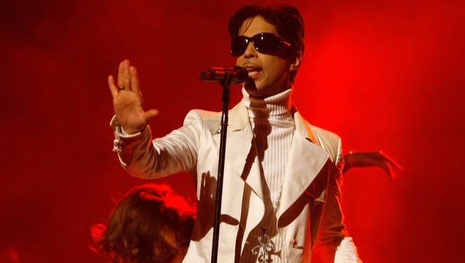 Prince performs onstage during the 2007 NCLR ALMA Awards held at the Pasadena Civic Auditorium on June 1, 2007, in Pasadena, Calif. The late singer's previously unreleased 'Moonbeam Levels' is out this week.