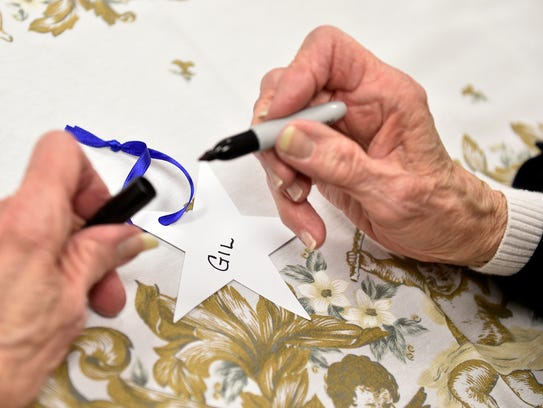 Doris Hoffacker, 87 of Manchester Township, writes