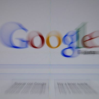 Google Spain home page