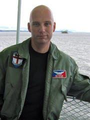 Staunton author and combat veteran Erik Sabiston