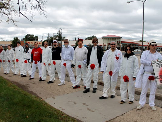 DFP circumcision protest BSM-WoodwardAve.2.JPG