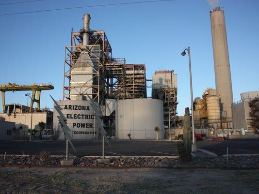 apache generating station