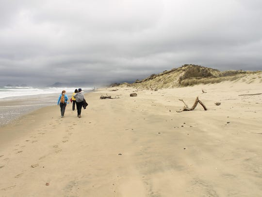 """The sandy beaches of Netarts Spit is one of the hikes in the book, """"Off The Beaten Trail: Fantastic Unknown Hikes In Northwest Oregon and Southwest Washington."""""""