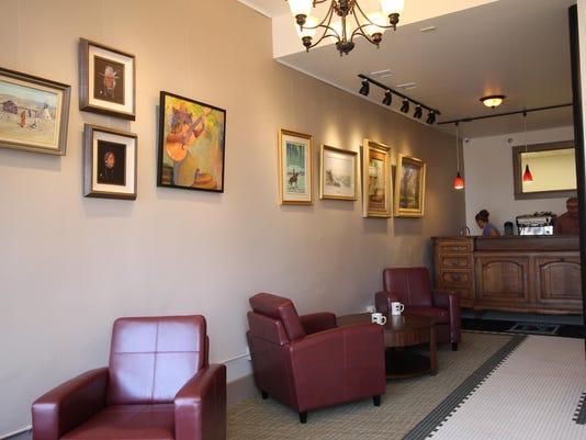 1 Hotel Arvon lobby and art gallery