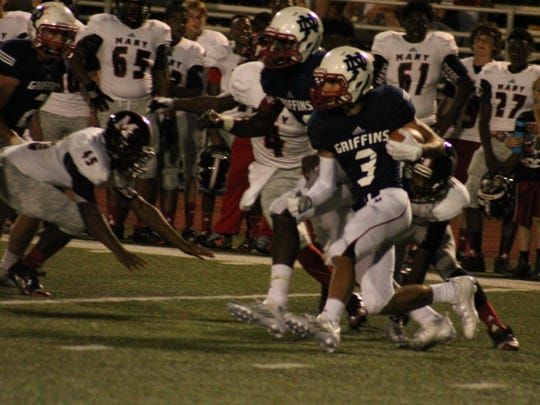 North DeSoto's McGuire Parker is one of the top receivers in the area.