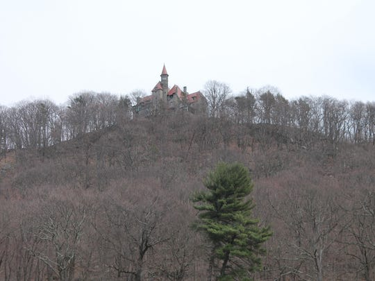 The castle at Castle Rock is private property, but the trails nearby are open to the public.