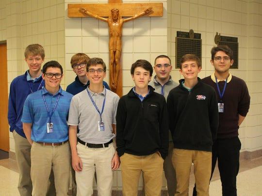 "Members of the ""Best in State"" CCH 9th/10th Grade Team are, from left: Tyler MacKnight, Alec Ballman, Jack Scharstein, Corey Foltz, Paul Couch, Matthew Batshoun, Whitt Hammond and Isaac Boldery."
