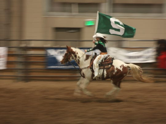 Daugherty is a member of the Michigan State University Rodeo Club.