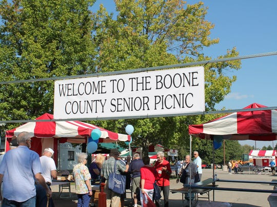 Boone County hosted its 29th annual senior picnic on