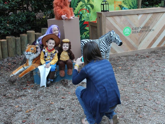 Lots of little Minions, Star Wars characters, princesses and cowboys are expected to show up for the Boo in the Zoo at Greenville Zoo.