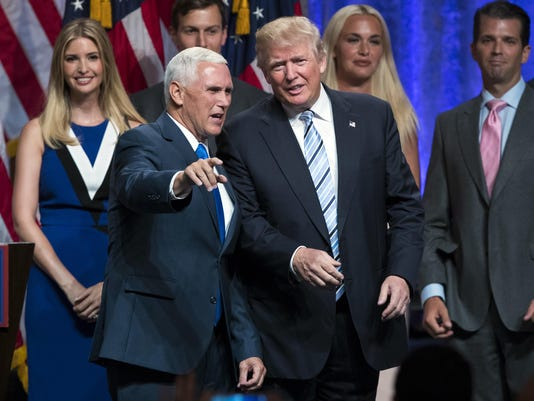Mike Pence,Donald Trump