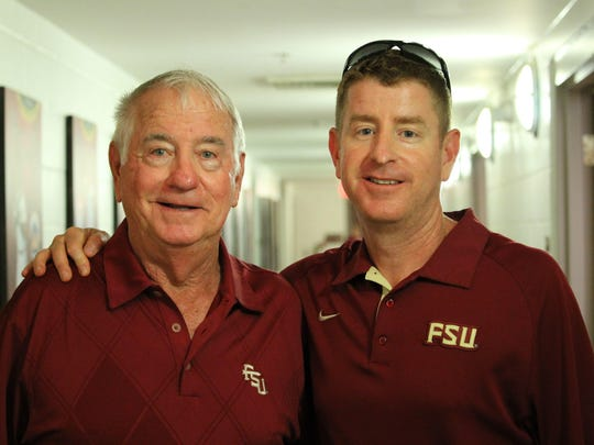 Mike Martin and his son, Mike Martin Jr.