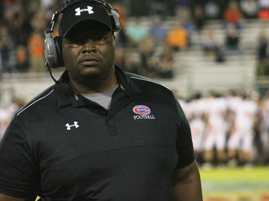 Evangel Christian Academy coach Byron Dawson and his Eagles are 1-0 after a win over East St. Louis
