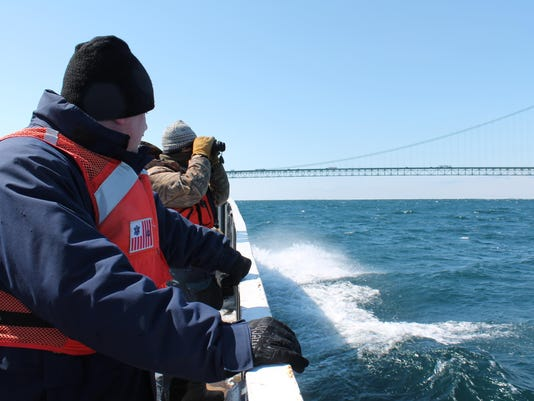Straits of Mackinac oil spill response