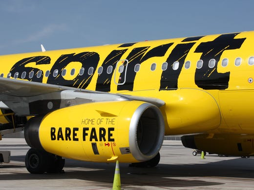 No. 9: Spirit Airlines scored 711. It wasn't ranked in 2018.