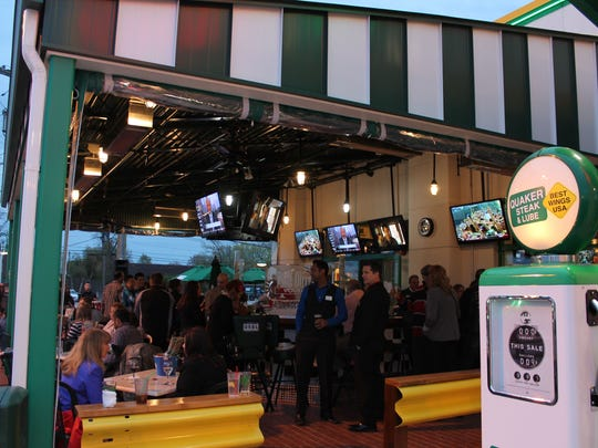 Quaker Steak and Lube has plenty of specials during this year's Super Bowl. This is the Edison location.
