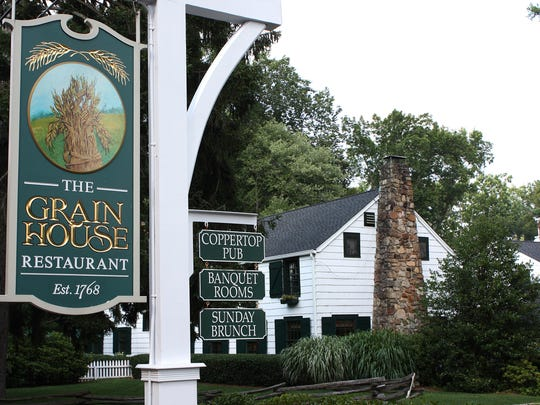 The Grain House is located at the Olde Mill Inn in Basking Ridge.