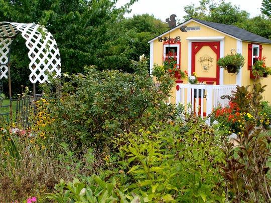 Christy Morrow's garden.