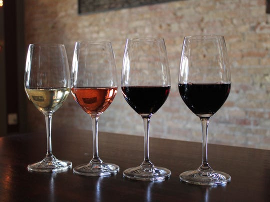 Flights of wine, four half-pours, are available at Uncorked.