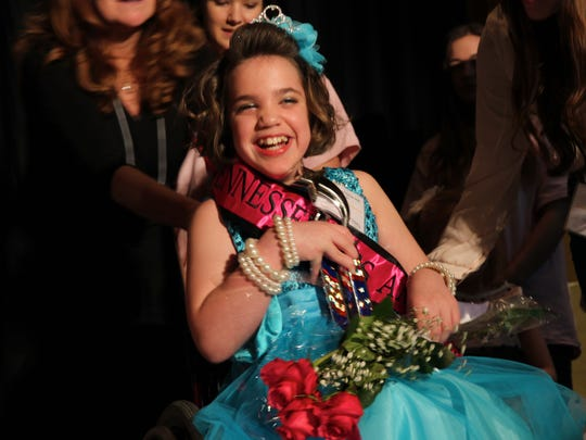 Kaylie Hill of Clarksville was crowned Miss Amazing