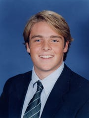 Gordie Bailey's junior year picture at Deerfield Academy