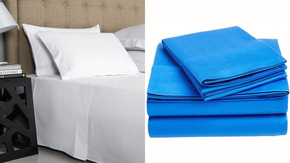 Indulge in 100% Egyptian cotton every night.